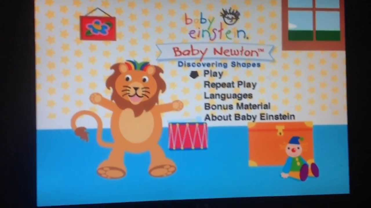 Opening To Baby Newton 2004 Dvd Youtube