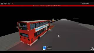 Roblox 500 SUB!!! London Hackney & Limehouse bus Simulator Gemini 1 Volvo one door RR with Disco