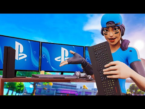 I Used A Mouse & Keyboard On CONSOLE...