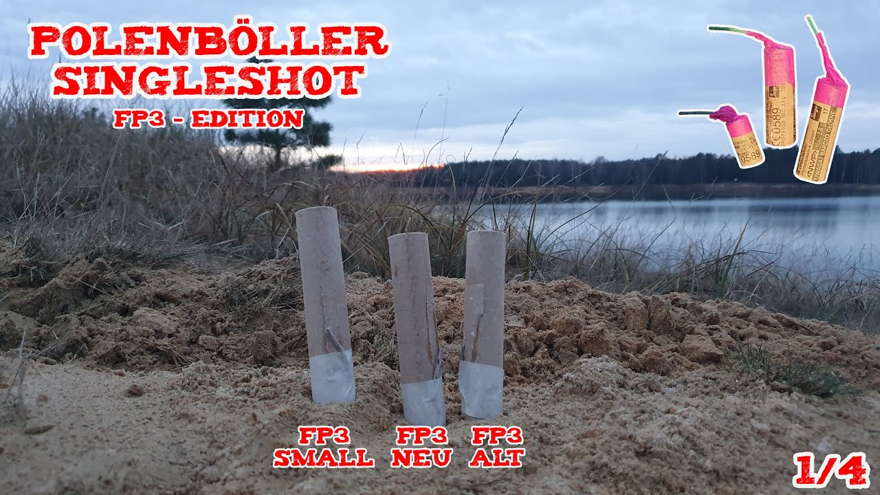 Polenböller Singleshots | FP3 Edition