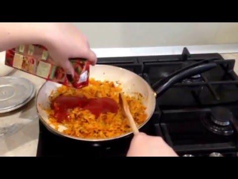 Тефтели с томатной подливой