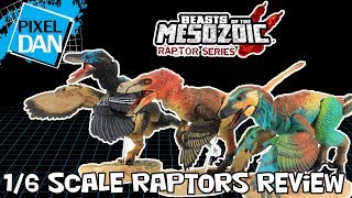 Beasts of Mesozoic Raptor Series 1/6 Scale Raptors Dinosaur Figures Video Review