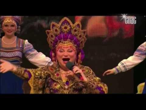 Ангелы летели над Россией - концерт Московского культурного фольклорного центра Людмилы Рюминой