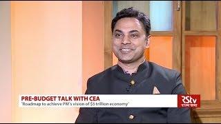 RSTV Exclusive: Chief Economic Advisor KV Subramanian Interview   Economic Survey 2018-19