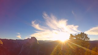 Best Sunrise at Glacier Point, Yosemite (Time Lapse)