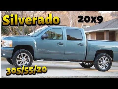 "2007 Silverado 20"" wheels 305/55/20 Nitto Trail Grapplers ..."