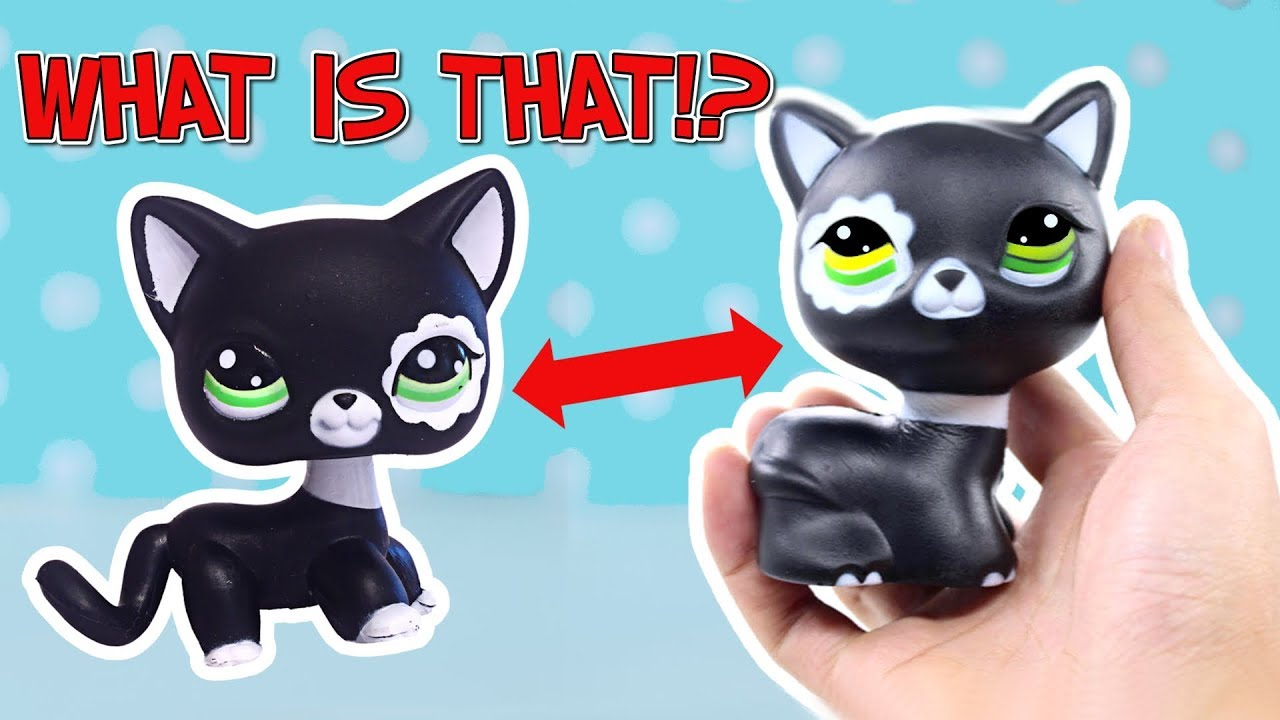 They Made A Fake Lps Squishy And It S Gross Youtube