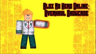 Roblox boku no hero Acdemia legends OverHaul - Khmertracks