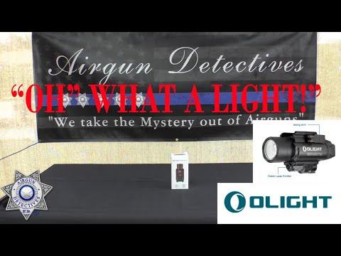 OLIGHT BALDR Pro professional lighting tool with green laser