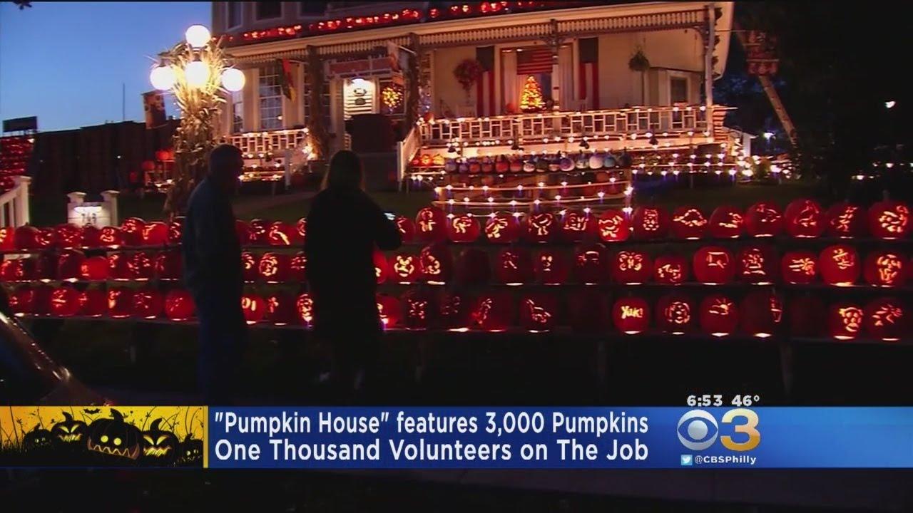 Pumpkin House\' Features 3,000 Pumpkins In West Virginia - YouTube