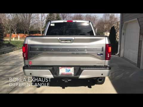 2016 Ford F-150 5.0 Coyote with Borla S-Type Exhaust