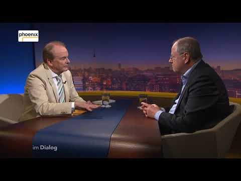 Phoenix Im Dialog  Alfred Schier im Gespräch mit Peer Steinbrück vom 20. April 2018