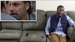 REACTION to The Walking Dead SEASON 7 Episode 16 (SEASON FINALE)
