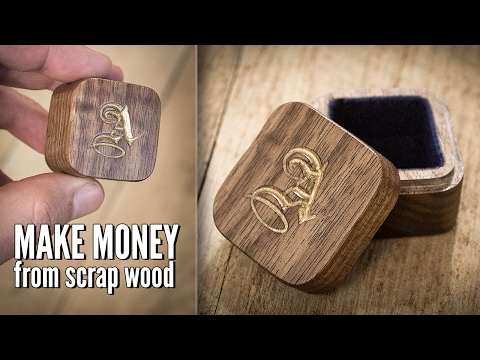 Turning Scrap Wood Into a $40 Jewelry Box With a CNC Machine