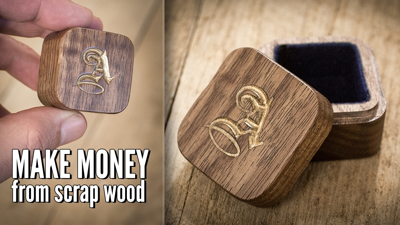 Turning Scrap Wood Into A 40 Jewelry Box With A Cnc Machine Youtube