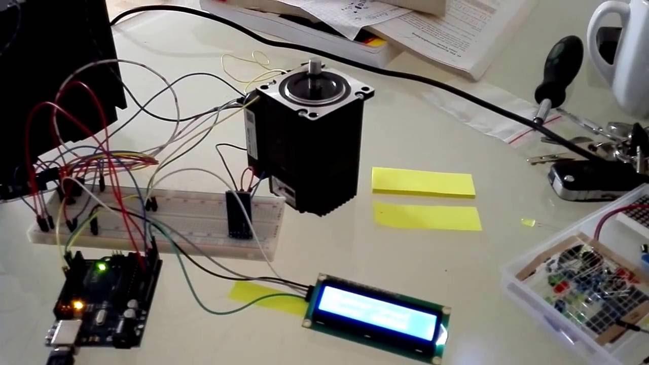 Arduino Closed Loop Stepper Speed Test I2c Influence