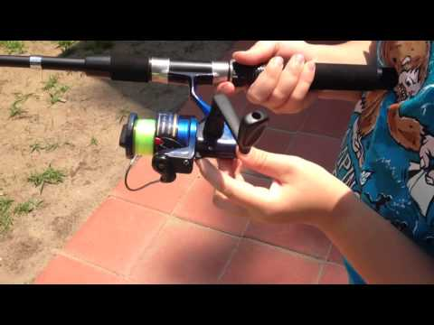 How To Use An Open Reel Fishing Rod