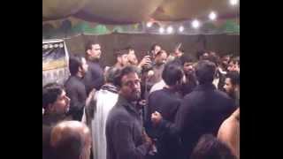 Mujahid Ali Nashad Best noha Ghar , ,ghar Hussain hey   13 safar 2015 Shah Shamas Multan