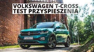 Volkswagen T-Cross 1.0 TSI 115 KM (AT) - acceleration 0-100 km/h