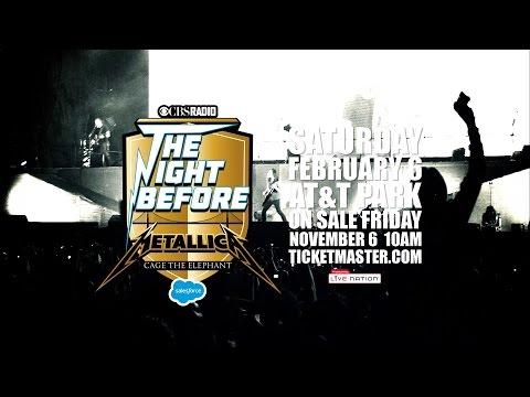 "Metallica: CBS Radio's ""The Night Before,"" February 6, 2016 - San Francisco, CA"