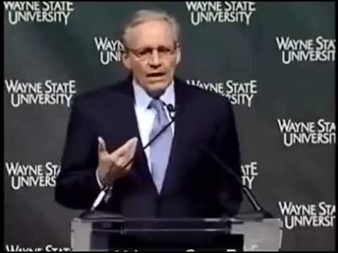 Bob Woodward talks about Al Gore,Gerald Ford,George Bush(Obama at peace?)