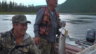 Рыбалка на реке Токко