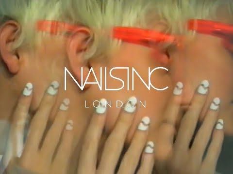 Nails inc backstage at London Fashion Week | House of Holland SS18