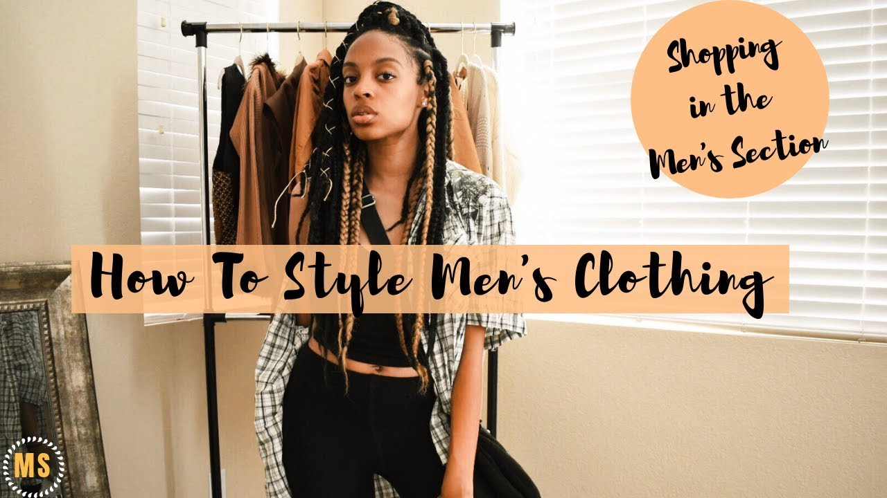 f96fd791b8 Stealing My Boyfriend s Clothes!  Comfy Fall Outfits - YouTube