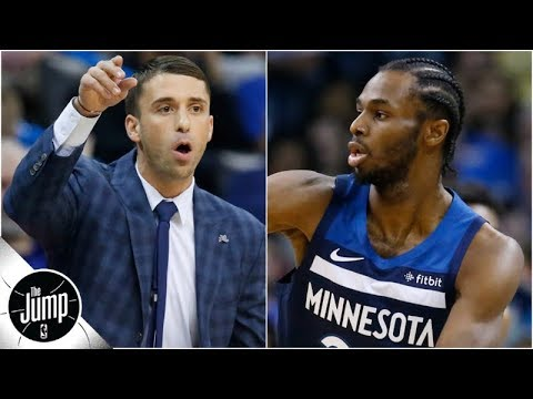 Andrew Wiggins looked like a star in first game under new Timberwolves coach   The Jump
