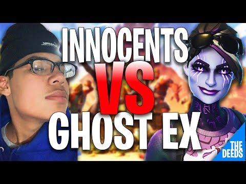 Ghost Innocents 1 VS 1 Ghost Ex | Fortnite Creative 1v1 *CONTROLLER GODS BATTLES*