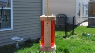 How To Make A Hummingbird Feeder (woodlogger.com)