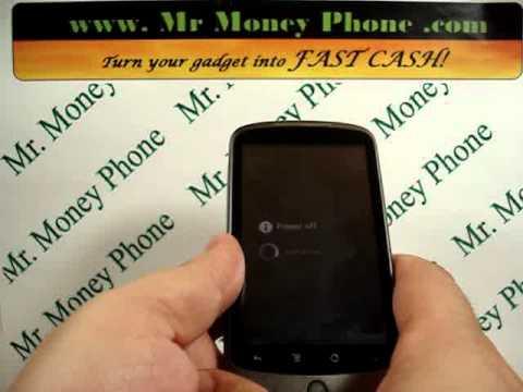HARD RESET HTC Google Nexus One Wipe Data Master Reset (RESTORE to FACTORY condition) Video