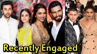 Top 10 Bollywood Couples Who Got Recently Engaged 2018 | You Don't Know