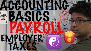 Accounting for Beginners #52 / Payroll / Employer taxes  / Employer FICA match / Accounting 101