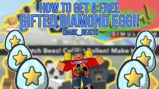 [Roblox] Bee Swarm Simulator: HOW TO GET A FREE GIFTED DIAMOND EGG (DARK_DEATH)