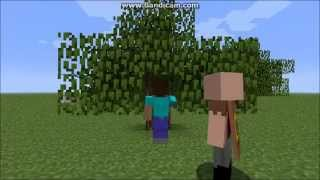 the story of herobrine beginning of evil minecraft