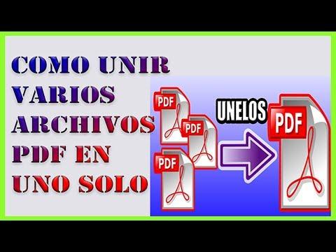 ✅-como-unir-varios-archivos-pdf-en-uno-solo-sin-programas【2020-muy-facil】