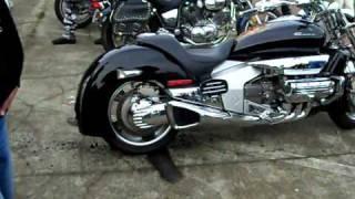 Rajd motocyklowy Lech Opalenica Sielinko Freestyle Palenie gumy Lipiec 2009 1