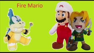 Random Plush - Fire Mario
