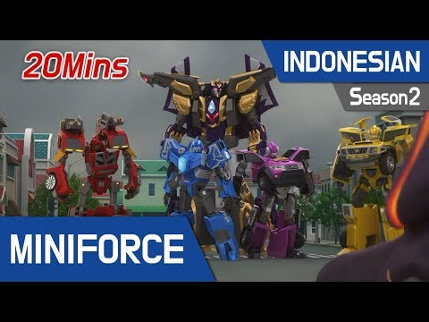 [Indonesian dub.] MiniForce S2 EP25~26