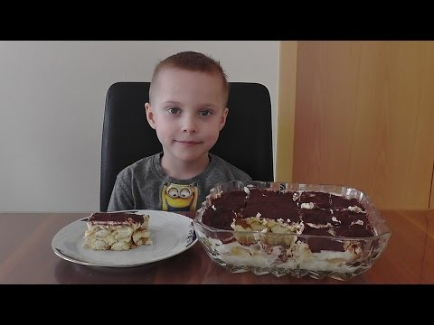 Erstes Kuchen Rezept /Tiramisu Kuchen-Rezept / Mit Biskuitkeksen #Nachspeisen / Dessert  // Tutorial