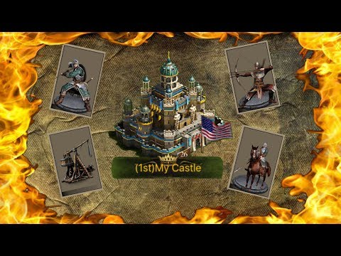T10 INSIDE CASTLE 26?!? - CLASH OF KINGS: THE WEST