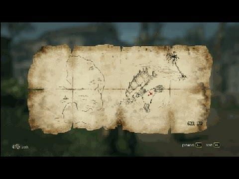 Assassin\'s Creed Black Flag Treasure Maps Assassin´s Creed 4   Treasure Map   623, 172 Kingston   YouTube Assassin\'s Creed Black Flag Treasure Maps