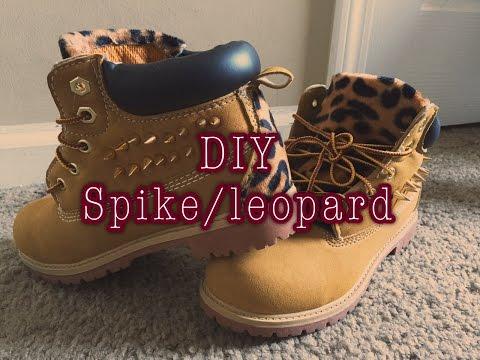 DIY| Spike/ Customize boots