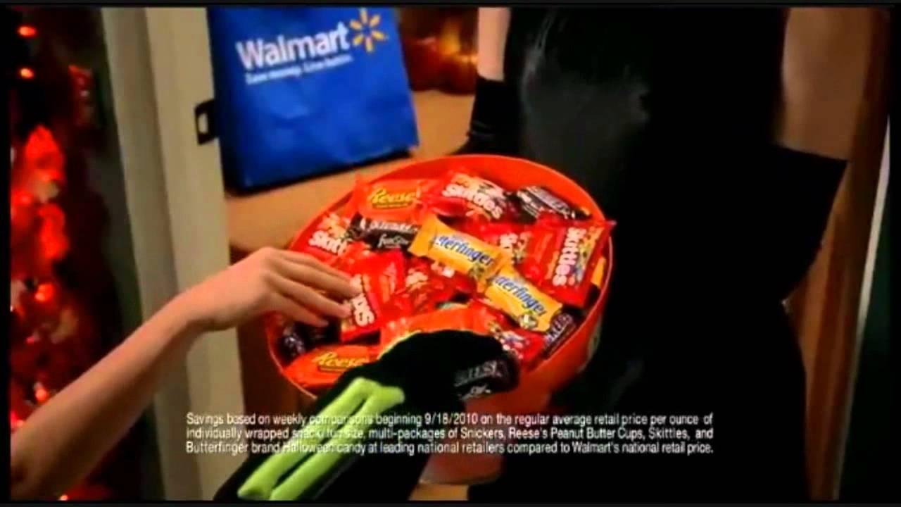 2010 walmart halloween commercial - youtube
