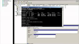 How to expand a VMDK and extend a partition in Windows for VMware ESX