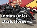 2016 Indian Chief Dark Horse Review - Test Ride