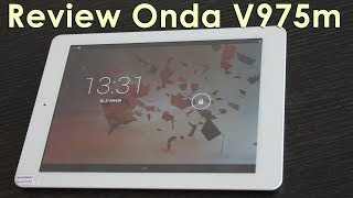 Onda V975m. Обзор планшета. Review Onda V975m.