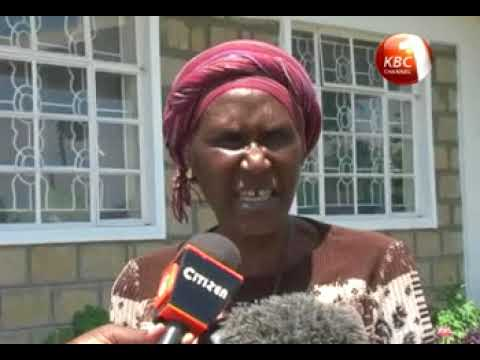 Family, friends mourn Robert Ouko's wife Christabel