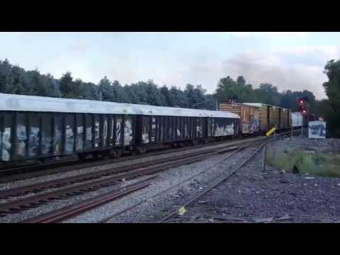 NB freight at  the Massachusetts-NH line